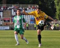 Kaposvar - Videoton soccer game Royalty Free Stock Images