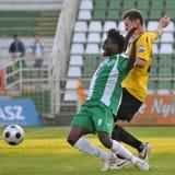Kaposvar - Videoton soccer game Royalty Free Stock Photos