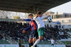 Kaposvar - Videoton soccer game Stock Images