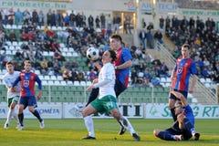Kaposvar - Videoton soccer game Stock Photography