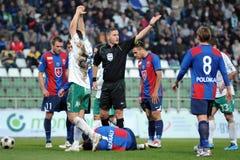 Kaposvar - Videoton soccer game Stock Image