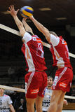 Kaposvar - Wien volleyball game Royalty Free Stock Image