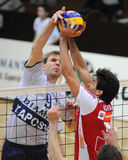 Kaposvar - Wien volleyball game Royalty Free Stock Photos