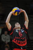 Kaposvar - Zagreb volleyball game Stock Photography