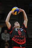 Kaposvar - Zagreb volleyball game Stock Photography