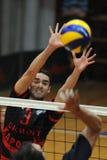 Kaposvar - Zagreb volleyball game Royalty Free Stock Images