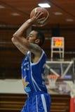 Kaposvar - Zalaegerszeg basketbalspel royalty-vrije stock afbeeldingen