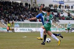 Kaposvar - Zalaegerszeg soccer game Stock Photos