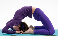 Kapotasana Stock Photo