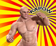 Kapow Royalty Free Stock Images