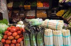 ιταλικό λαχανικό αγοράς &kapp Στοκ εικόνα με δικαίωμα ελεύθερης χρήσης