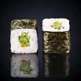 Kappa maki rolls with cucumber Stock Photo