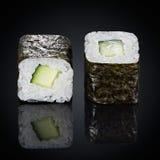 Kappa maki rolls with cucumber Stock Photography