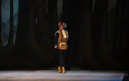 """Kappa- och tigerväst-Peking opera som """"Taking Tiger Montain By Strategyâ € Arkivbilder"""