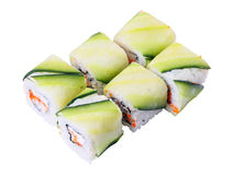 Kappa unagi rolls Royalty Free Stock Photos