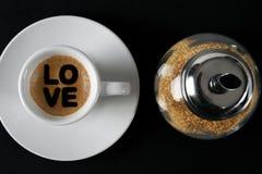 Kappe des Kaffees Stockfotos