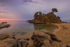 Kappe Roig-Sonnenaufgang stockfoto