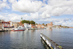 Kappeln cityscape Stock Images
