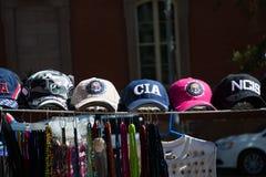 Kappen voor verkoop op de straat in Washington DC Royalty-vrije Stock Afbeeldingen