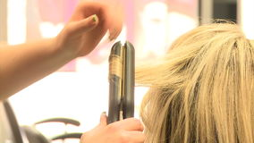 Kapper Hairstyle stock footage
