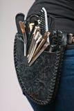 Kapper met apparatuur holster royalty-vrije stock afbeelding