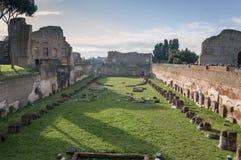 Kapplöpningsbana av Domitian Arkivbilder
