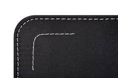 черное kapron ткани Стоковые Фотографии RF