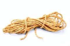 Kapron rope Stock Photo
