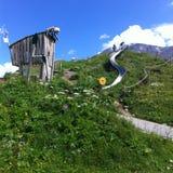 Kaprun, Áustria foto de stock