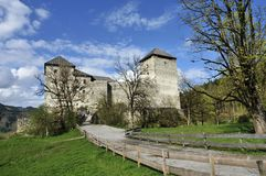 Kaprun Castle Stock Photo
