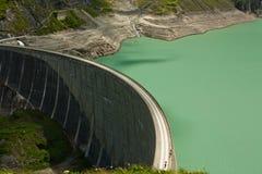 Free Kaprun Dam, Lake And Alps Stock Images - 23451164
