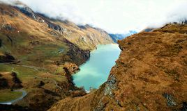 Kaprun Dams in Zell Am See, Austria Stock Photo