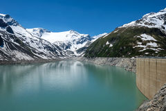 Kaprun High Altitude Reservoir Stock Images