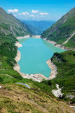 Kaprun High Altitude Storage Lake Stock Photo