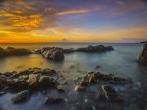 Kaprusan beach Royalty Free Stock Image