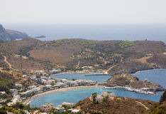 Kapsali Bay, Kithira Island Stock Photo