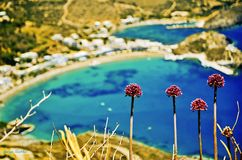 Kapsali village at Kithera island in Greece. Stock Photography