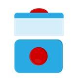 Kapsel för diskarekassaskåp tvagningminnestavlor Fotografering för Bildbyråer