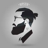 Kapsel hipster stock illustratie