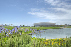 Kapstadt-Fußball-Stadion Lizenzfreies Stockfoto