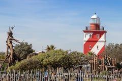 Kapstadt-seapoint Leuchtturmansicht stockbilder