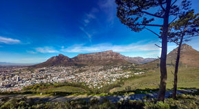 Kapstadt vom Signal-Hügel Stockbild