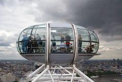 kapsuła przygląda się London s zdjęcie royalty free