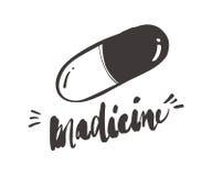 Kapsuły medycyny i pigułki fazy, apteka, lekarstwo, pharmace Zdjęcie Stock