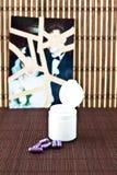 kapsuły target638_0_ purpury Obraz Stock