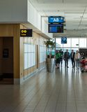 Kapsztad lotniska międzynarodowego lokalny wyjściowy terminal Obrazy Royalty Free