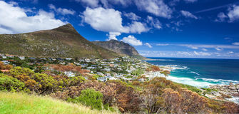 Kapsztad panoramiczny krajobraz Obraz Stock
