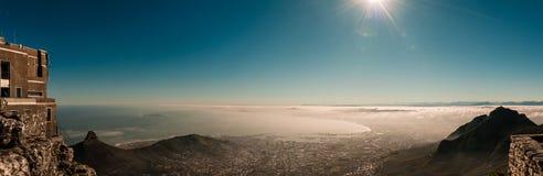 Kapsztad, Południowa Afryka & x28; widok od stołowego mountain& x29; Zdjęcie Royalty Free