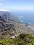 Kapsztad Południowa Afryka widok Obraz Royalty Free