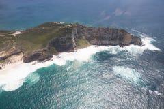 Kapsztad widok od śmigłowcowego Południowa Afryka zdjęcia stock